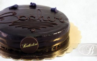 torta sacher battistini parma