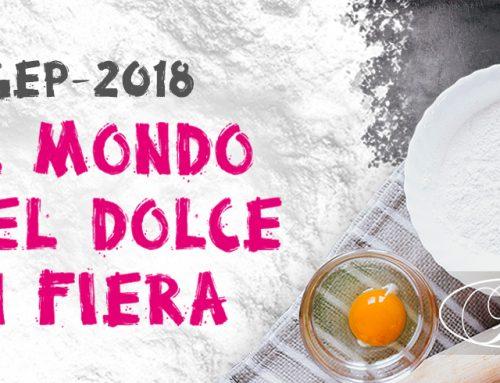 I golosi di tutto il mondo riuniti a Rimini: Sigep 2018.