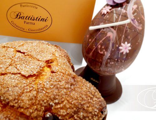 Uova di cioccolato e colomba. A Parma i dolci tipici di Pasqua sono firmati Battistini